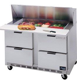 """Beverage Air Sandwich Unit, 4 Drawer, 16 Pan, 60"""", 17.1 cu. ft."""