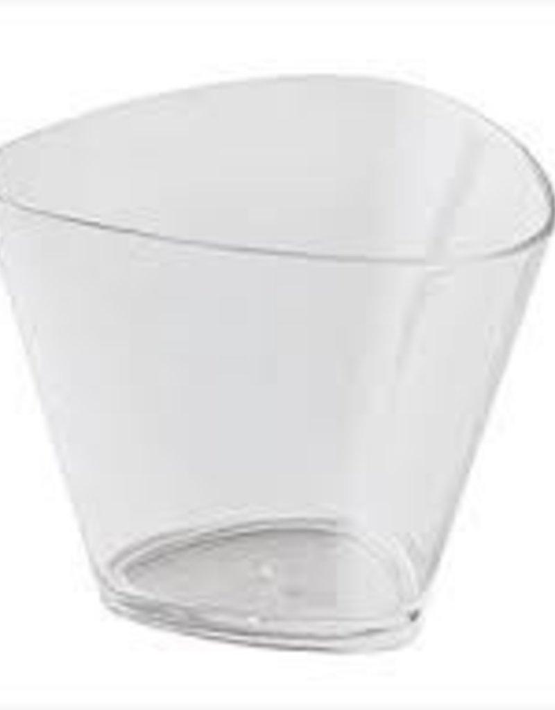 Paderno Triangular Glasses, Disposable, 4.1 oz