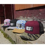 Mello Velo Printed Label Snapback Hat