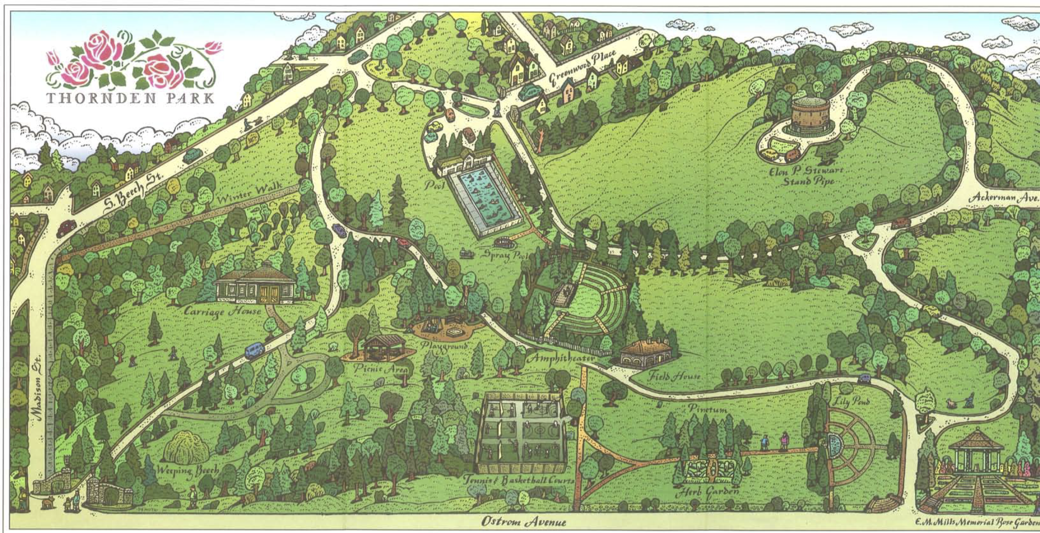 Thornden Park Map