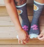 Mello Velo Cafe SockGuy Socks Wool