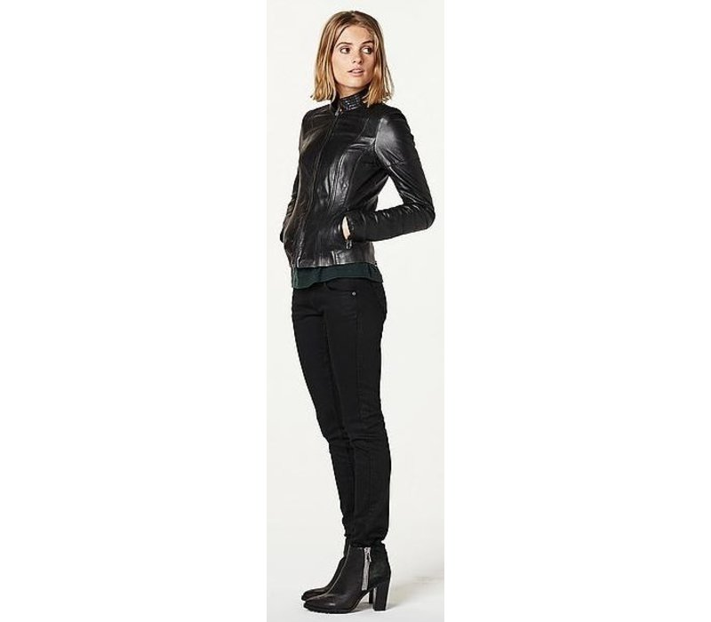 Leather jacket water resistant