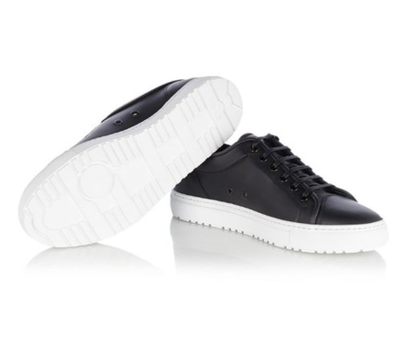 Low 1 leather sneaker