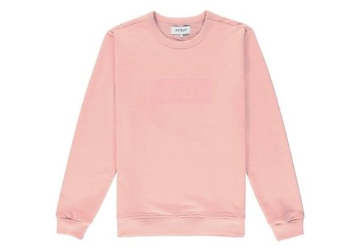 ONTOUR Window sweater men pink