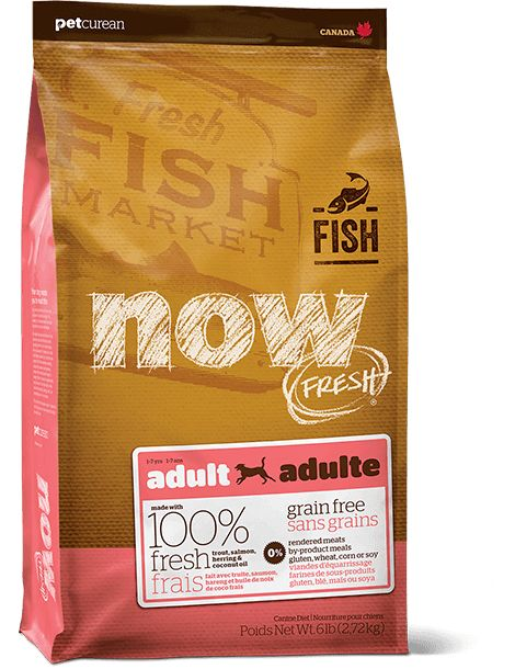 Now Fresh Fish Adult 6lb