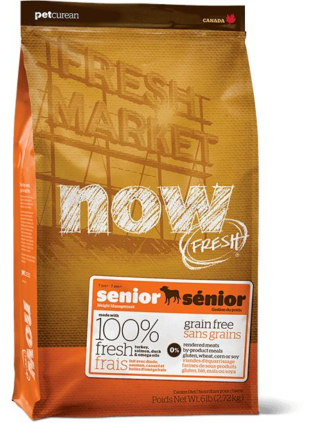 Petcurean Now Fresh Senior 12lb