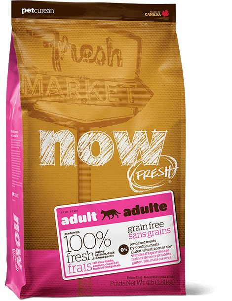 Now Cat Fresh Grain Free Fish Adult 4lb