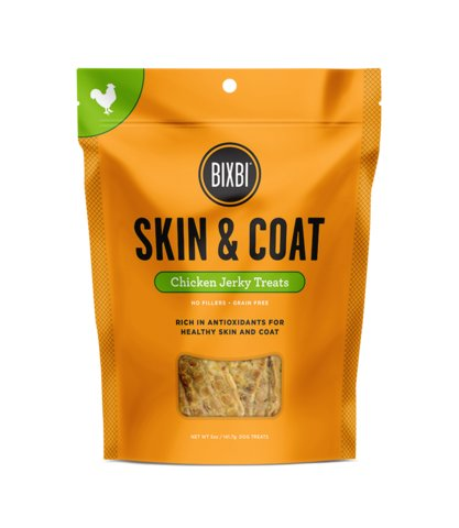 Bixbi Bixbi Skin & Coat Chicken Jerky 15oz
