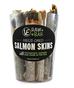 Vital Essentials Vital Essentials Salmon Skins 3pk