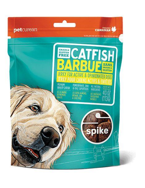 Petcurean Spike Treat Catfish Jerky 4oz