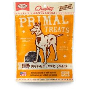 Primal Primal Buffalo Liver Snaps 4.25oz