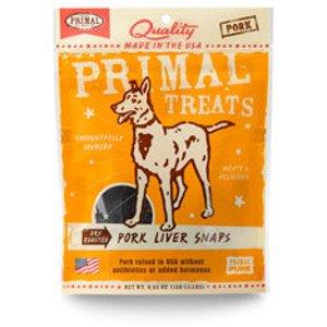 Primal Primal Pork Liver Snaps 4.25oz