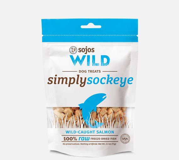 Sojos Sojos Simply Wild Salmon 2.5oz