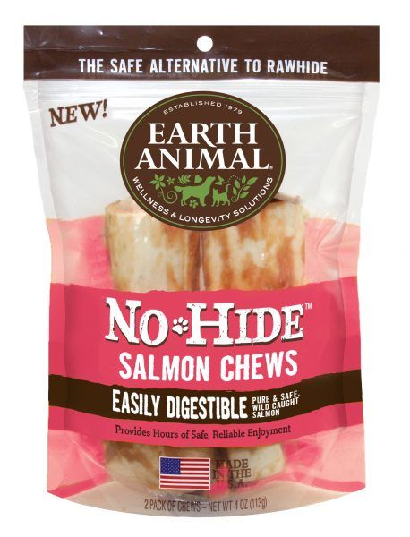 "Earth Animal Earth Animal Salmon Chew 4"" 2-Pack"