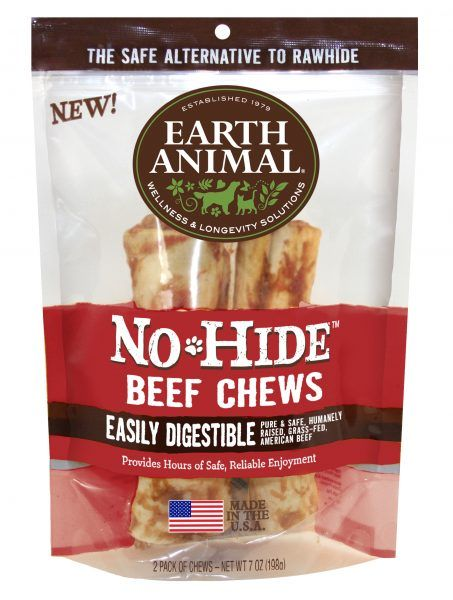 "Earth Animal Earth Animal Beef Chew 7"" 2-Pack"