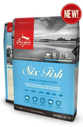 Orijen Orijen Cat Six Fish 5lb