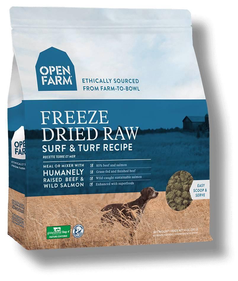 Open Farm Open Farm Freeze Dried Surf & Turf 13.5oz
