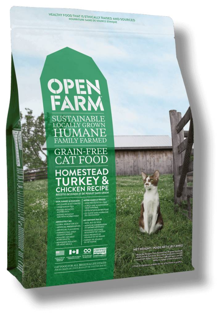 Open Farm Open Farm Turkey & Chicken Cat 4lb
