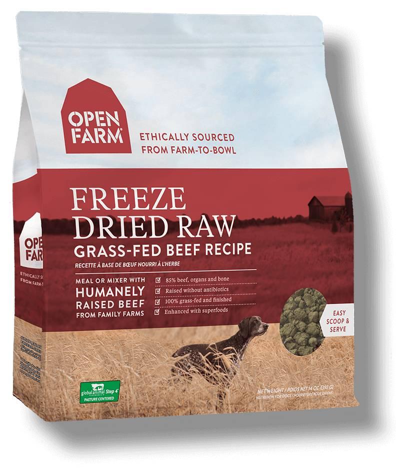 Open Farm Open Farm Freeze Dried Beef 13.5oz