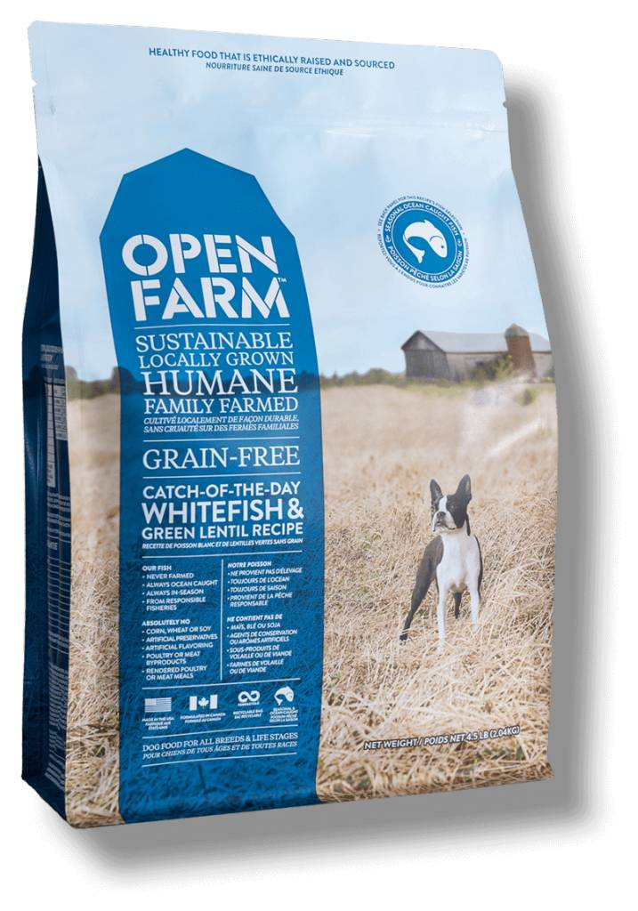 Open Farm Open Farm Whitefish & Green Lentil 12lb