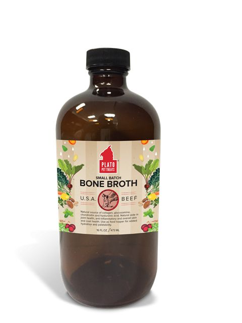 Plato Plato Beef Bone Broth 16oz