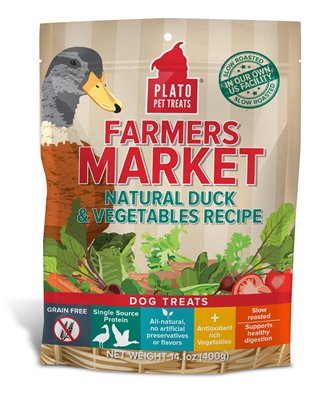Plato Plato Farmers Market Duck & Vegetables 14oz