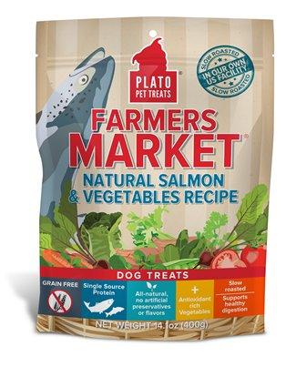 Plato Plato Farmers Market Salmon & Vegetables 14oz