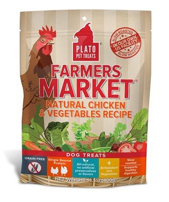 Plato Plato Farmers Market Chicken & Vegetables 14oz