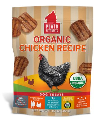 Plato Plato Organic Chicken Strips 16oz