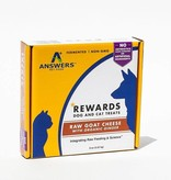 Answers Answers Goat Milk Cheese Treat Ginger 8-oz