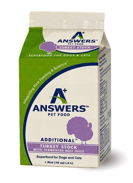 Answers Answers Turkey Stock & Fermented Beet Juice Pint