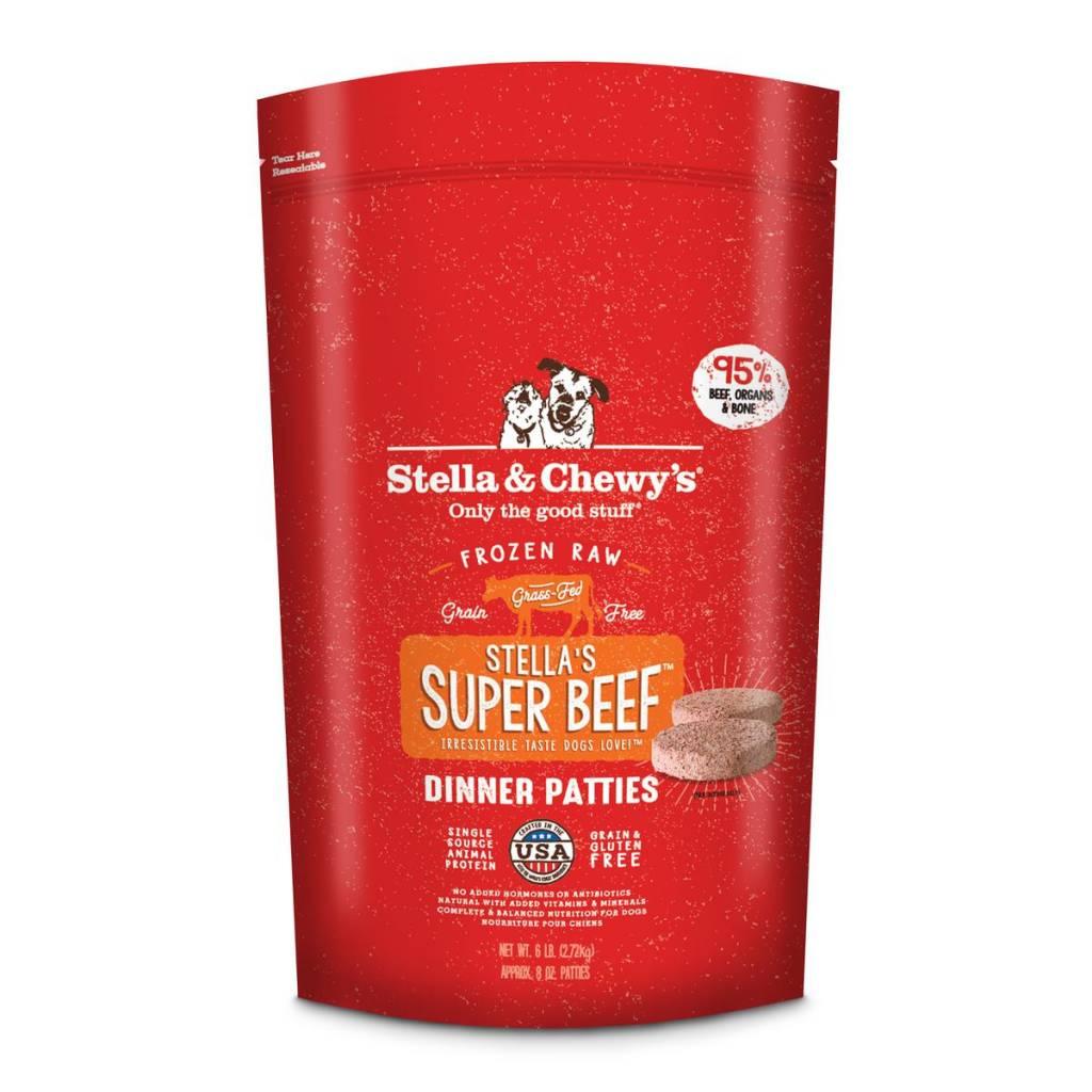 Stella & Chewys Stella & Chewy's Dog Raw Beef 6lb