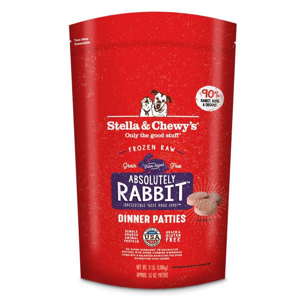 Stella & Chewys Stella & Chewy's Dog Raw Rabbit 3lb