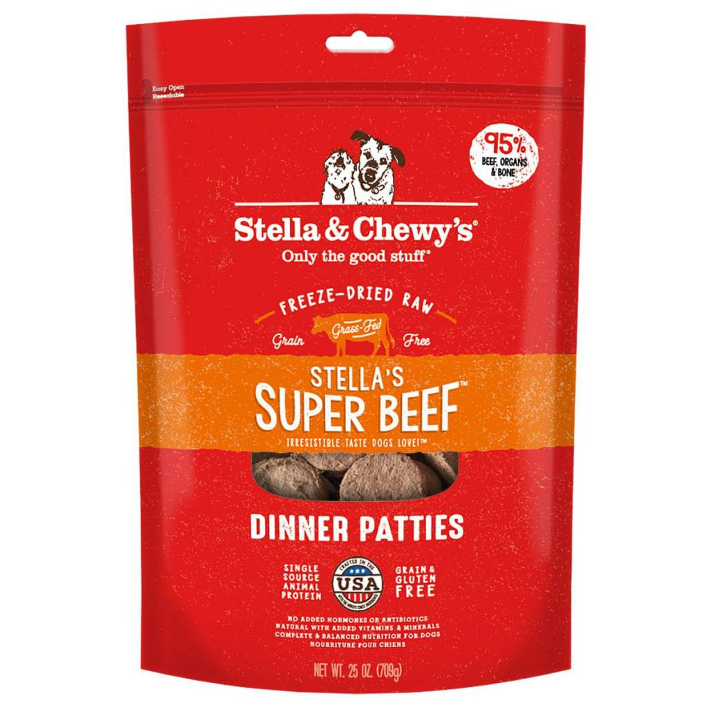 Stella & Chewys Stella & Chewy's Dog Freeze Dried Beef 25oz