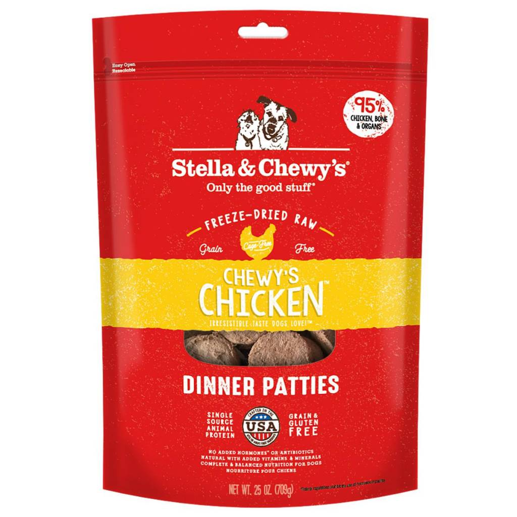 Stella & Chewys Stella & Chewy's Dog Freeze Dried Chicken 25oz