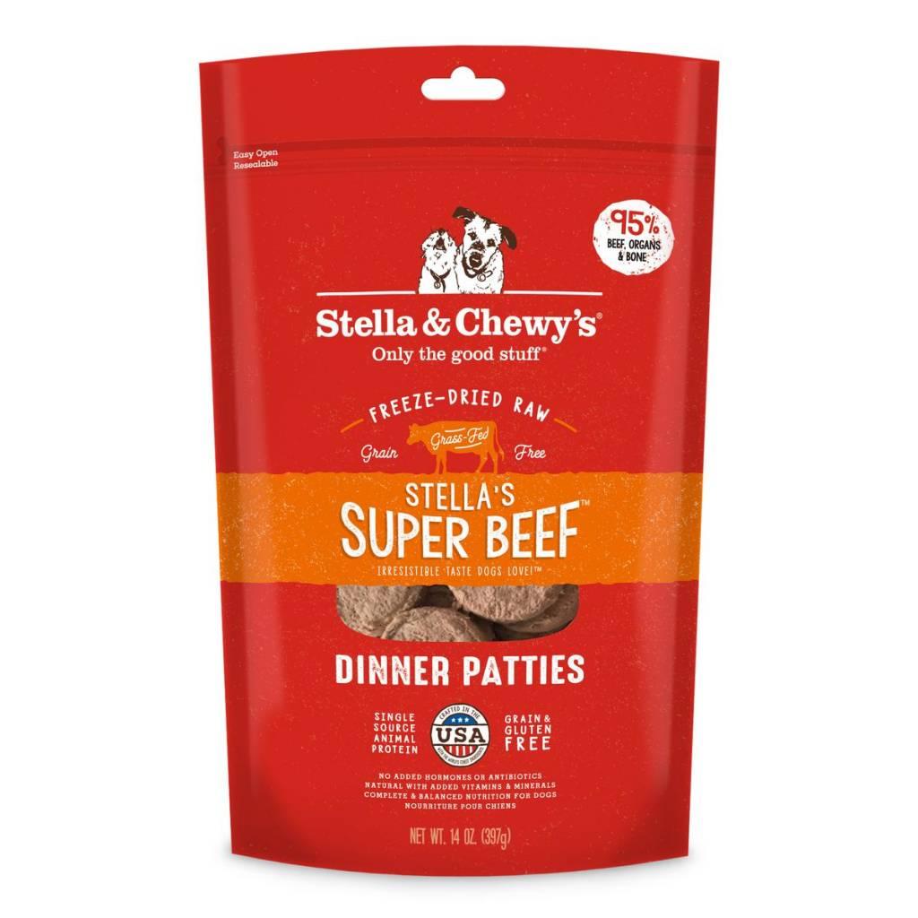 Stella & Chewys Stella & Chewy's Dog Freeze Dried Beef 14oz