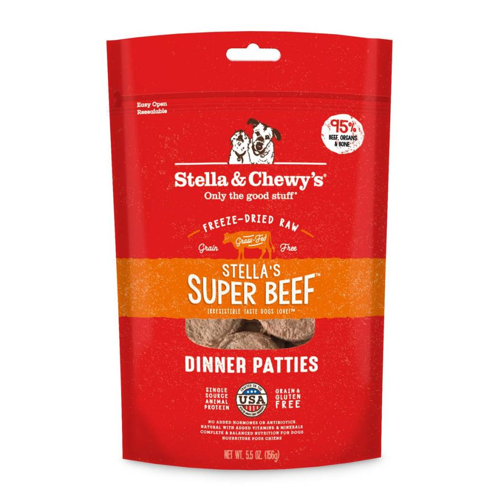 Stella & Chewys Stella & Chewy's Dog Freeze Dried Beef 5.5oz