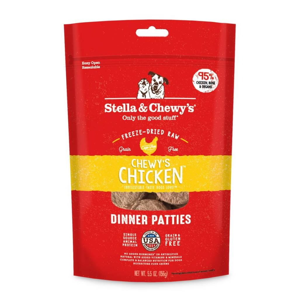 Stella & Chewys Stella & Chewy's Dog Freeze Dried Chicken 5.5oz