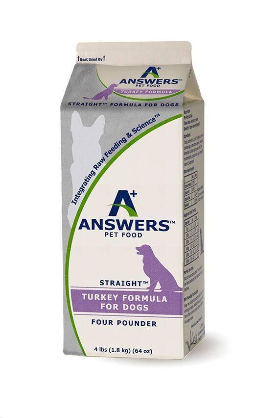Answers Answers Straight Turkey 4lb Half Gallon