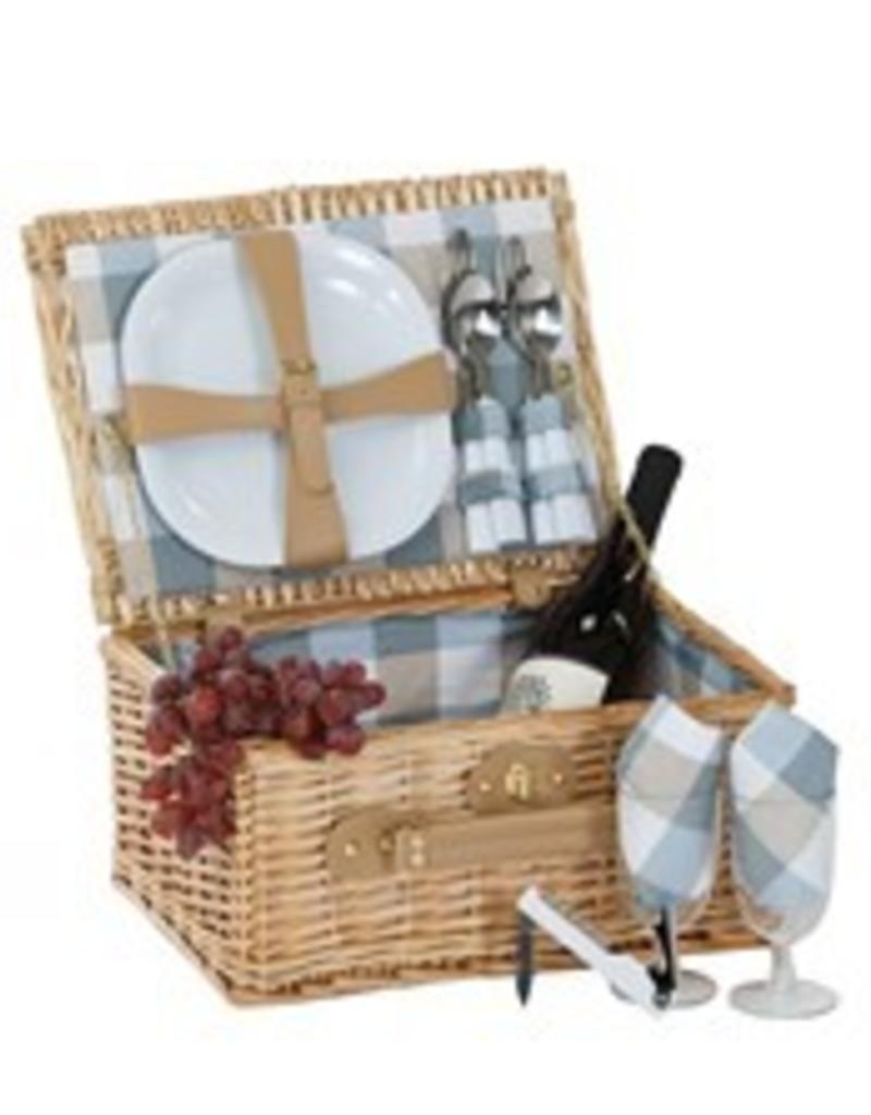 Oak Olive Booth Bay 2 Person Picnic Basket