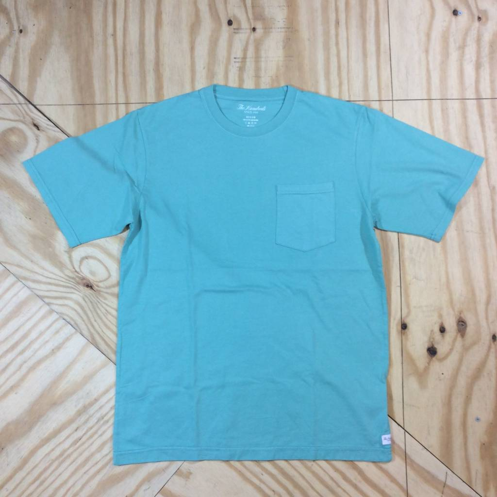 THE HUNDREDS Perfect Pocket T-Shirt Teal