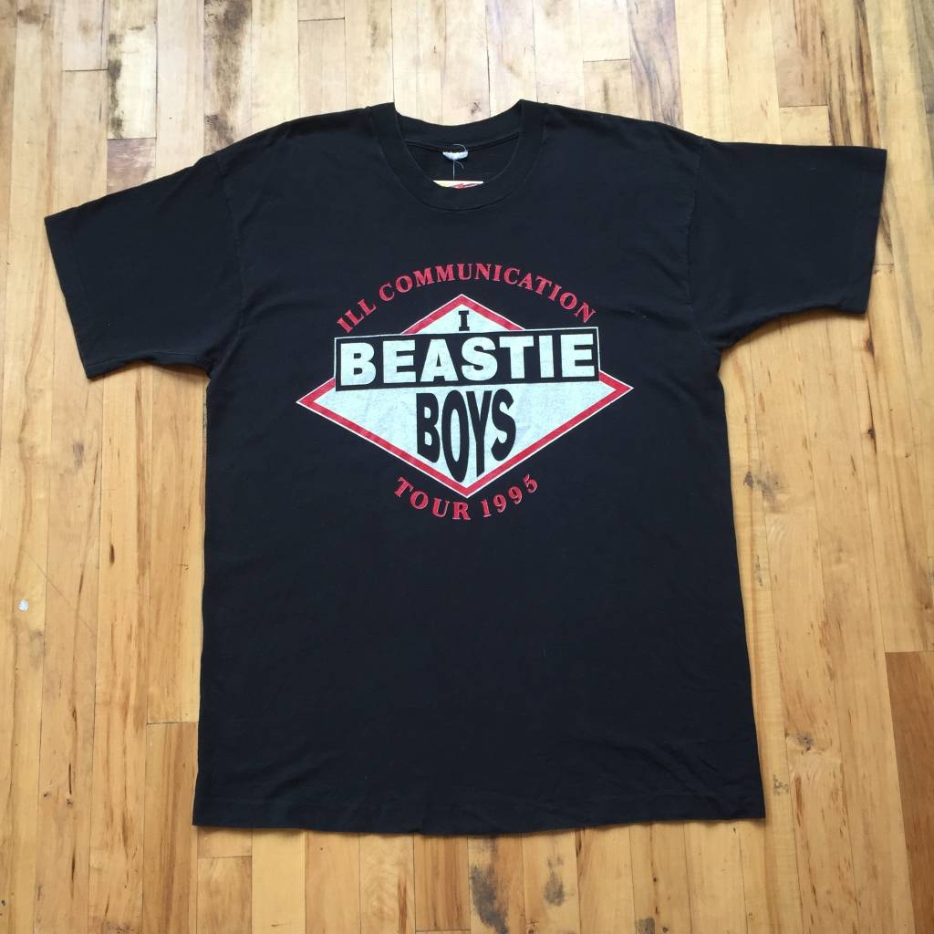 2ND BASE VINTAGE Vintage Beastie Boys 1995 ill Communications Tour T-Shirt XL