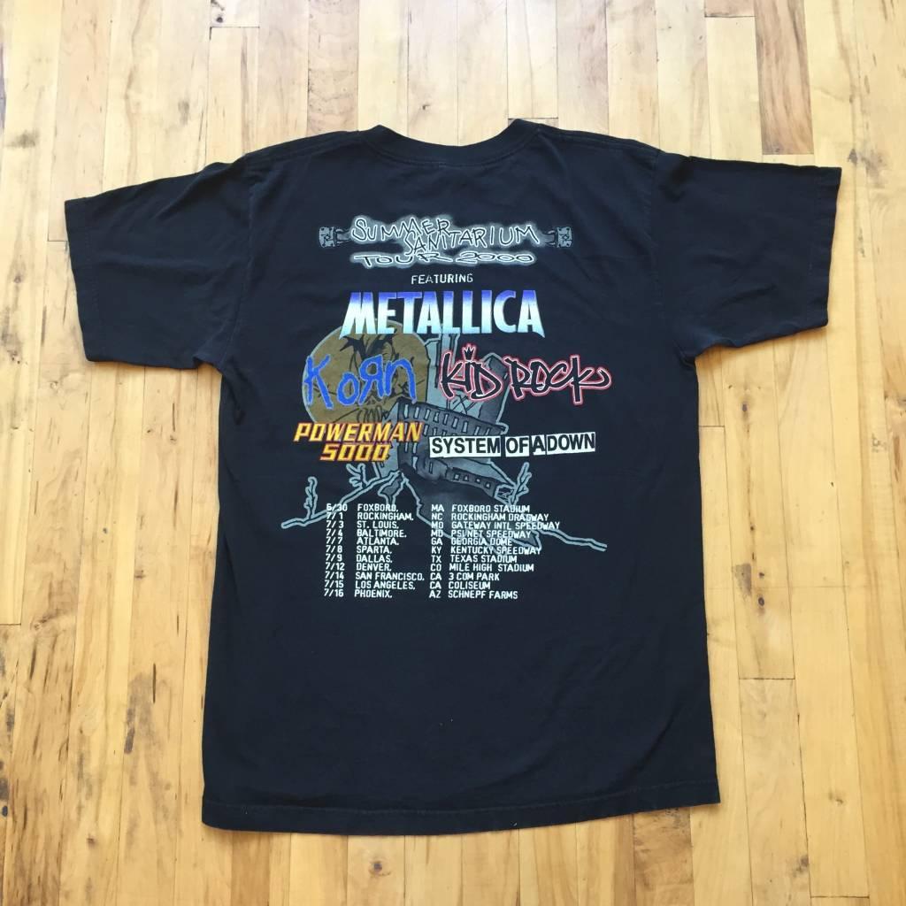2ND BASE VINTAGE Vintage Summer Sanitarium Tour 2000 T-Shirt LG