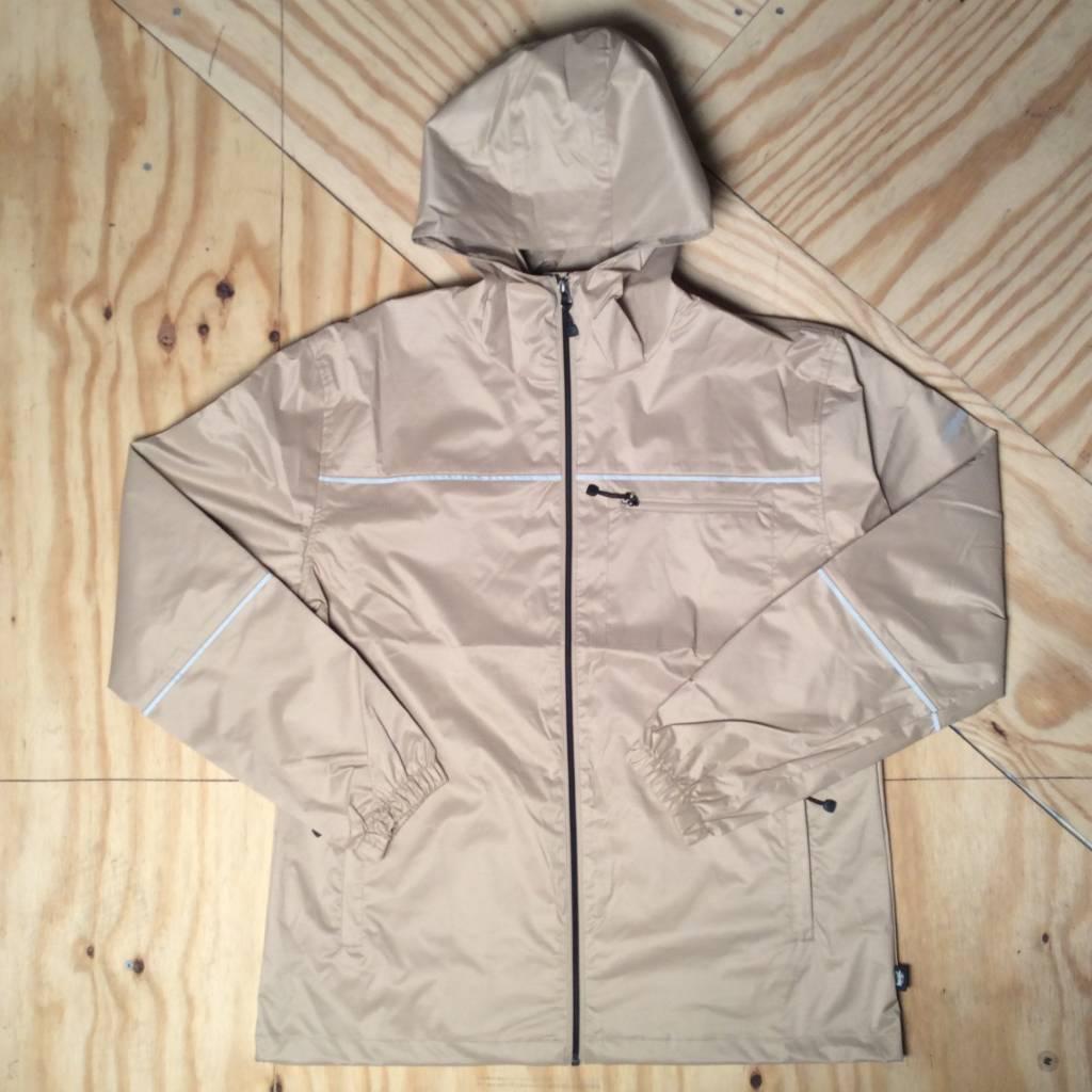 STUSSY 3M Ripstop Jacket Tan