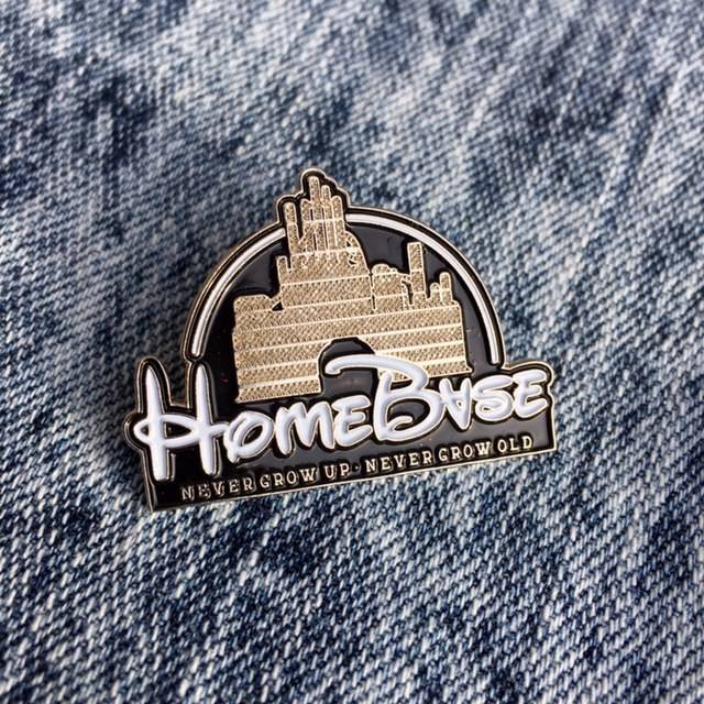 HOMEBASE HARDGOODS Magic Castle Pin