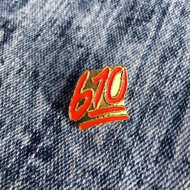 HOMEBASE HARDGOODS 610 Emoji Pin