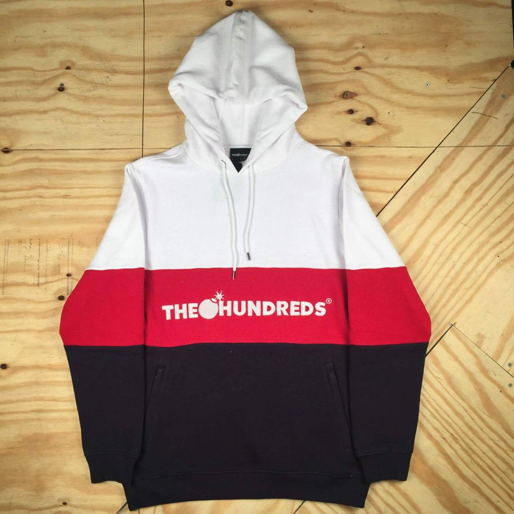 THE HUNDREDS Canal Pullover Hoody White