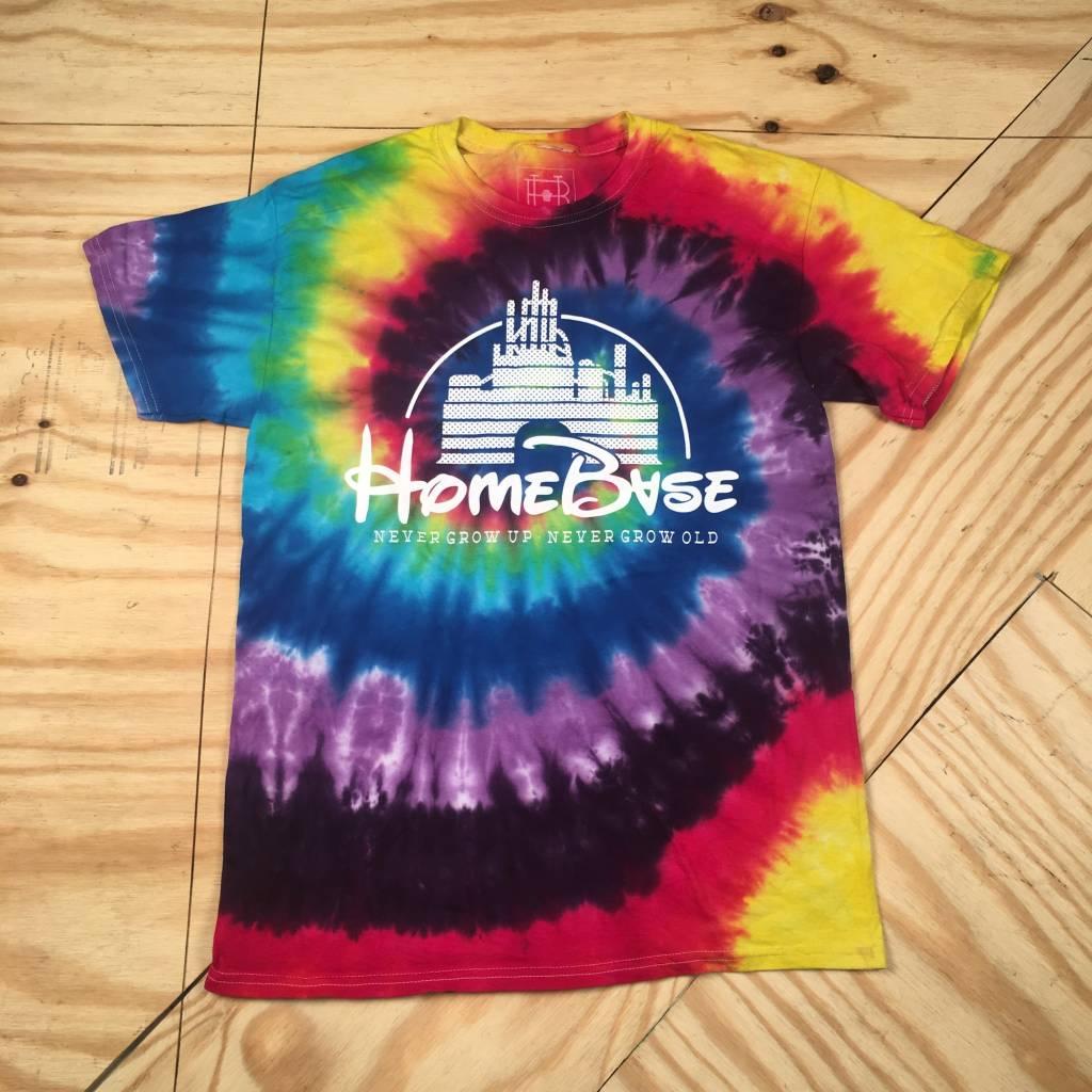 HOMEBASE SOFTGOODS Magic Castle Multi Tie Dye T-shirt
