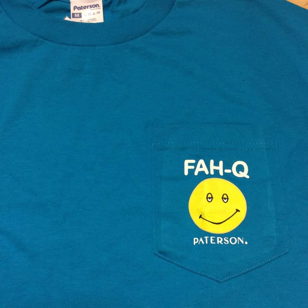 PATERSON LEAGUE FAH Q Pocket T-shirt Turquoise