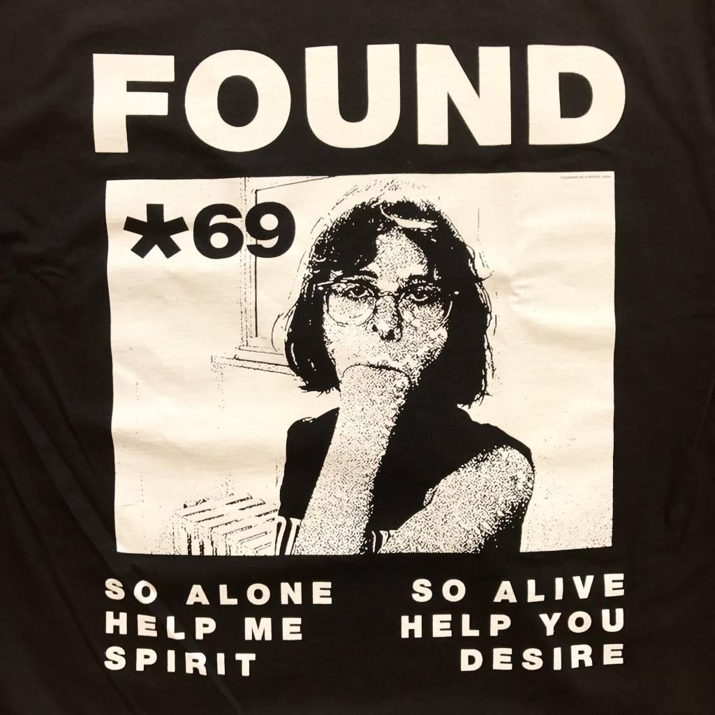 PLEASURES Found T-Shirt Black